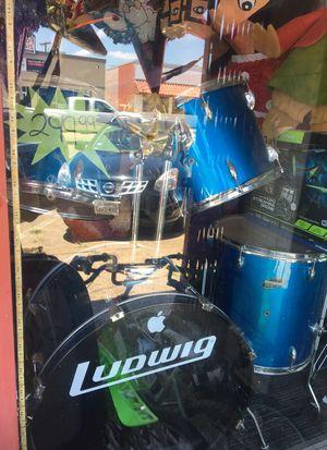 7 piece drum set for Sale in Dallas, TX