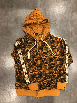 Bape x MCM hoodie size Xl and L for Sale in Los Angeles, CA