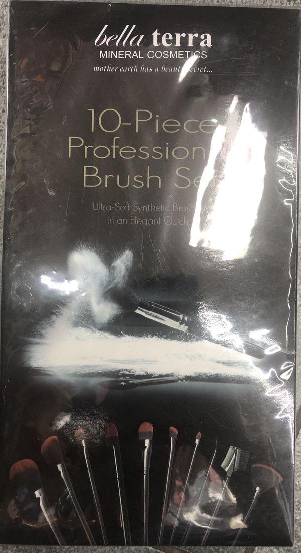 10 Piece Professional Brush Set
