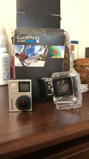 Gopro hero4 silver full comdition with underwater case for Sale in Washington, DC