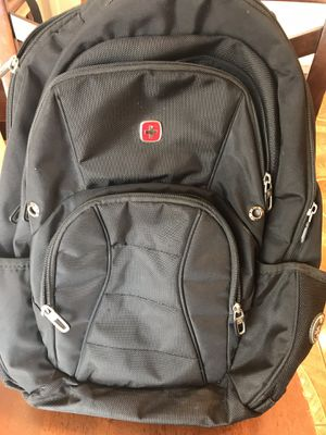 Swiss Gear Black TSA Friendly ScanSmart Laptop Backpack for Sale in Chula Vista, CA