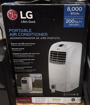 LG Portable Air Conditioner, 8,000BTU, NEW in box for Sale in New York, NY