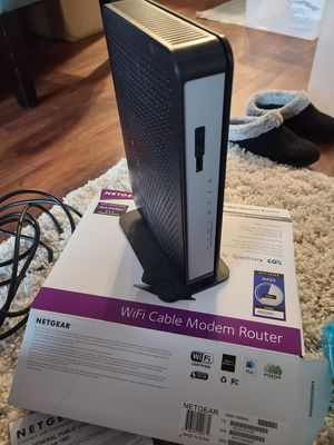 Netgear N450 wifi cable modem, compatible with Xfinity for Sale in Sacramento, CA