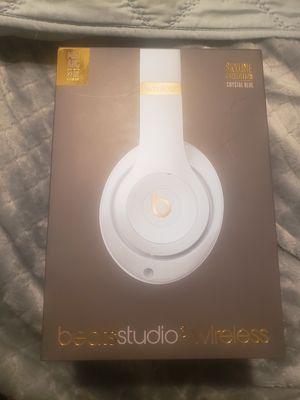 Beats studio 3 wireless crystal blue for Sale in Fontana, CA