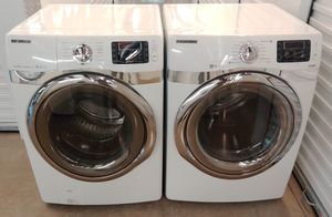 SAMSUNG VRT STEAM FRONT LOADERS WASHER AND DRYER ON SALE WITH WARRANTY AND DELIVERY AVAILABLE for Sale in Irving, TX