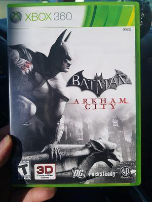 Batman arkham city Xbox 360 game for Sale in Oklahoma City, OK