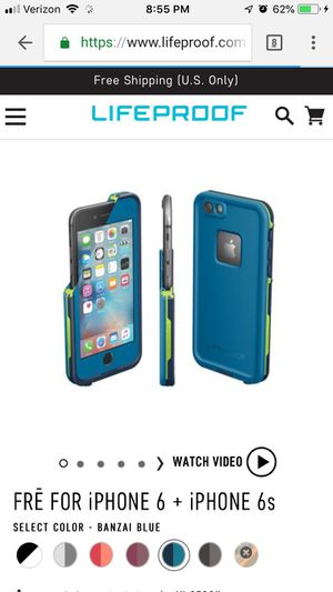 IPhone 6 6s lifeproof case. New for Sale in Pittsburgh, PA