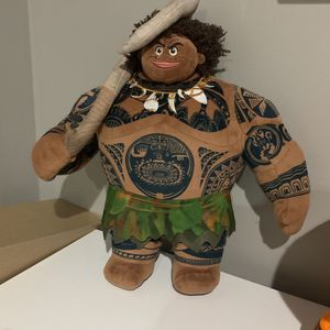 Disney Moana Maui Plush for Sale in Silver Spring, MD