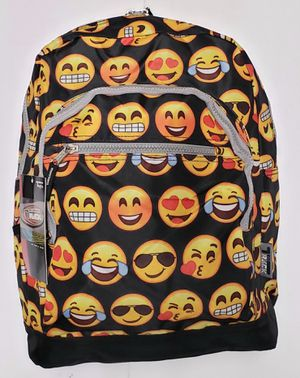 "Brand NEW Spacious ""EMOJI"" Backpack For School/Traveling/Work/Everyday Use/Summer Bag/Beach/Hiking/Gym/Gifts $12 for Sale in Carson, CA"