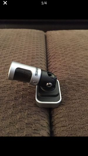 MV88 Shure Recording Microphone for Sale in Adelaide, CA