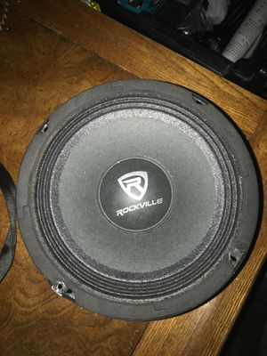 Rockville Audio 6.5 midrange speakers for Sale in Penn Valley, PA