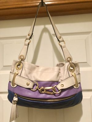 New B Makowsky Tri Color Buttery Soft Leather Hobo Shoulder Bag for Sale in Amherst, OH