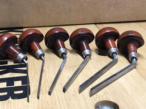 E.C. Lyons Lozenge Gravers/Burins 6 pieces sizes 2, 4, 6, 8, 10, 12 perfect condition for Sale in Bradenton, FL