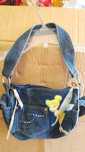 Disney Tinkerbell Jeans kids purse for Sale in San Diego, CA