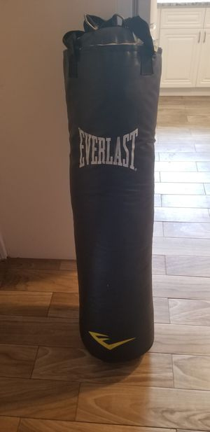 EVERLAST 100 lbs Heavy Boxing Punch Bag for Sale in Tarpon Springs, FL