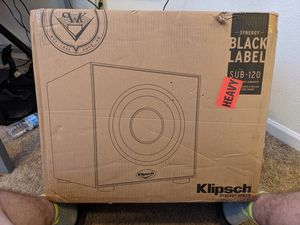 Klipsch Synergy Black Label Sub - 120 for Sale in San Marcos, TX