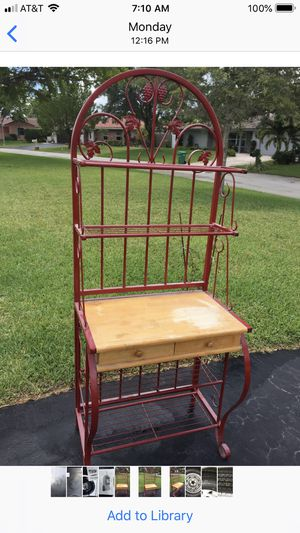 Bakers rack for Sale in Tamarac, FL