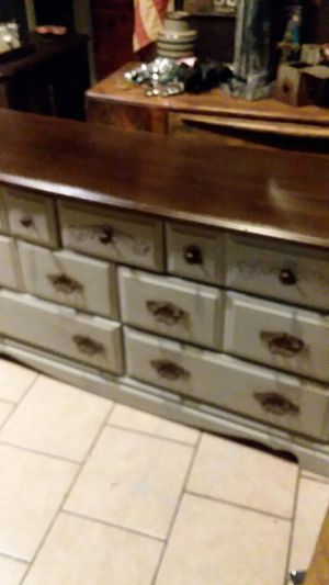 Dresser/Entertainment Center 56x18x30 for Sale in Odessa, TX