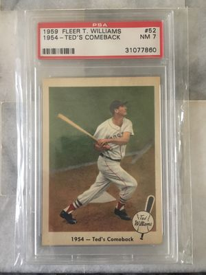 Rare baseball cards for Sale in Silver Spring, MD