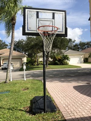 Outside Basketball Hoop/Stand for Sale in Parkland, FL