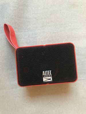 Altec Lansing Bluetooth speaker mini for Sale in Dublin, CA