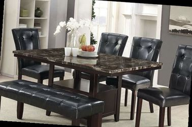 6 Pcs Dining Table New In Boxes Price Firm for Sale in Pomona,  CA