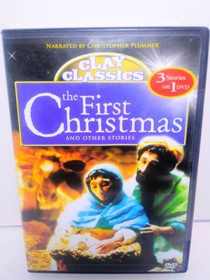 Clay Classics The First Christmas DVD for Sale in Dallas, TX