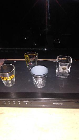 4 WYOMING SHOT GLASSES for Sale in Lincoln, NE