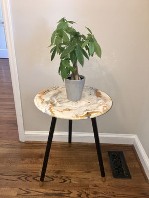 Beautiful Hand Painted Side Table for Sale in Wake Forest, NC