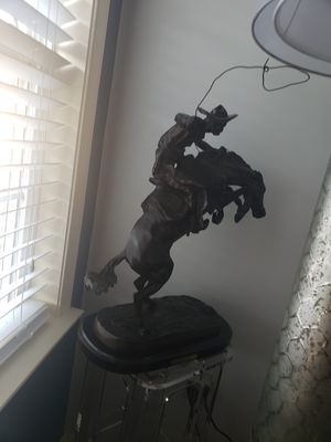 Bronco buster frederic remington for Sale in NJ, US