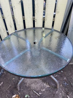 Patio glass table for Sale in Norcross, GA