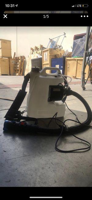 110volt ULV Disinfectant Fogger Knapsack Electric Sprayer Fogging Machine Fine Mist Sprayers 12L for Sale in Rowland Heights, CA