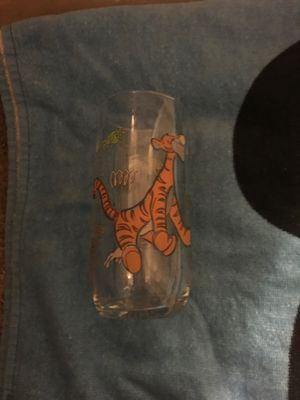 Tigger From Winnie The Pooh Glass Cup for Sale in Farmers Branch, TX