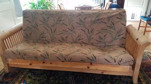 Custom made futon and mattress for Sale in Portland, OR
