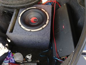 Optive drive 12 inch subwoofer double coil for Sale in HILLTOP MALL, CA