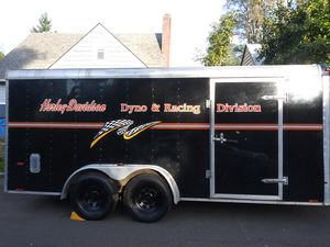 18 foot V nose enclosed trailer for Sale in Vancouver, WA
