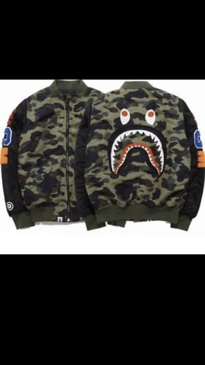 Bape bomber jacket for Sale in Takoma Park, MD