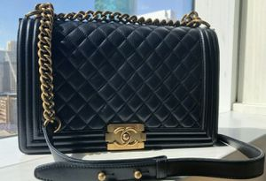 Authentic Chanel Boy Bag for Sale in Beverly Hills, CA