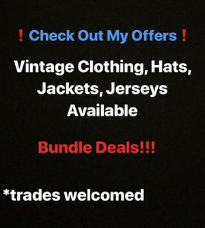 Vintage Clothing, Hats, Jackets/Sweatshirts, Jerseys for Sale in Covina, CA