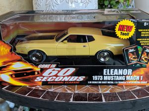 Eleonor 1971 Mach 1 Ford mustang toy model car for Sale in Lynwood, CA