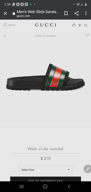 Gucci slippers for Sale in Shreveport, LA