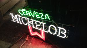 Vintage bar light.Michelob Good condition for Sale in Sacramento, CA