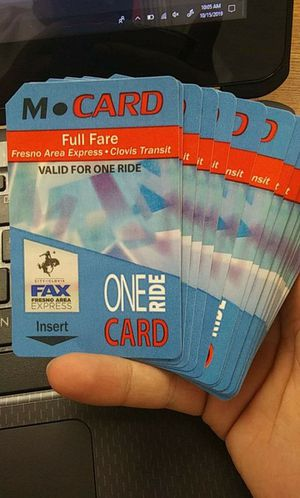 One ride bus passes. for Sale in Fresno, CA