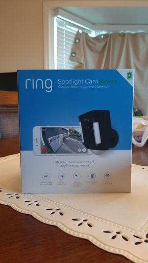 Ring Spotlight Cam Battery for Sale in Phillips Ranch, CA