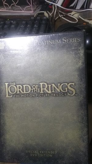 Lord of The Rings DVD Collector Set for Sale in Glendale, AZ