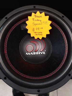 "12"" Massive GTX Subwoofer for Sale in Orlando, FL"