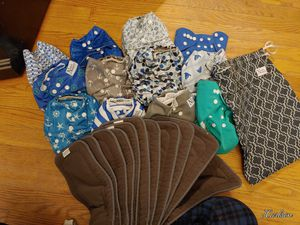Cloth diapers for Sale in Chesapeake, VA