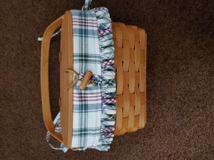 Longaberger Basket TF1998 - $45.00 OBO for Sale in Englewood, OH