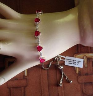 Ruby Hearts Bracelet for Sale in Pompano Beach, FL