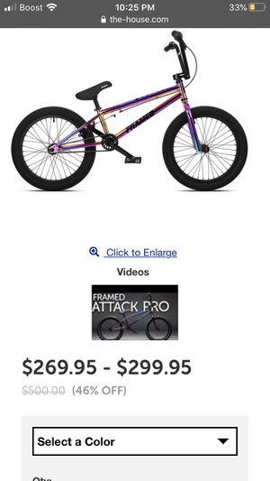 Framed 20 inch bmx bike for Sale in Essex, MD